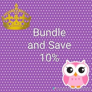 Other - Bundle 2 or more items to save 10%